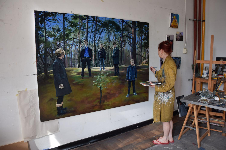 Eline brontsema houtsnedes en schilderijen